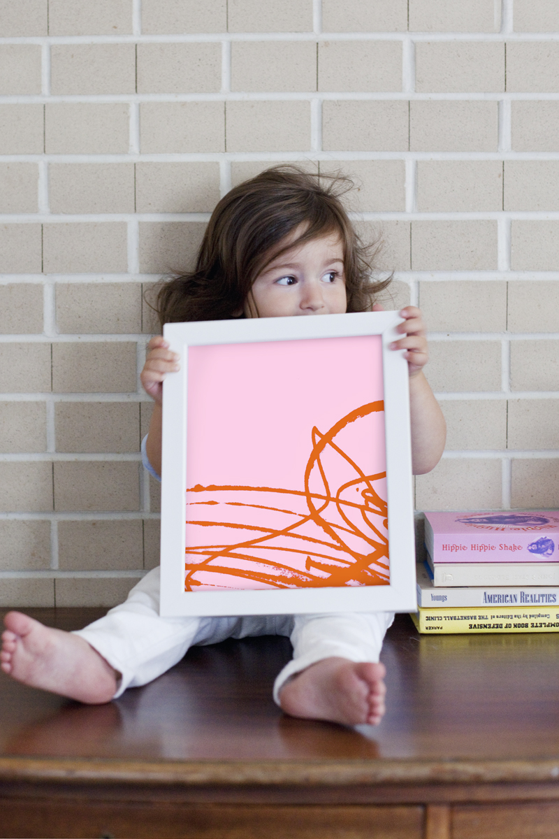 Try This Transform Kiddo Scribbles Into Modern Art A