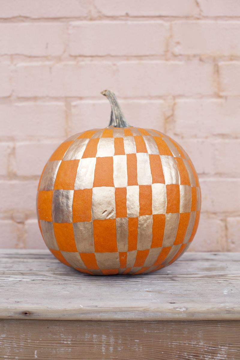 Easy no carve pumpkin ideas a beautiful mess Easy pumpkin painting patterns