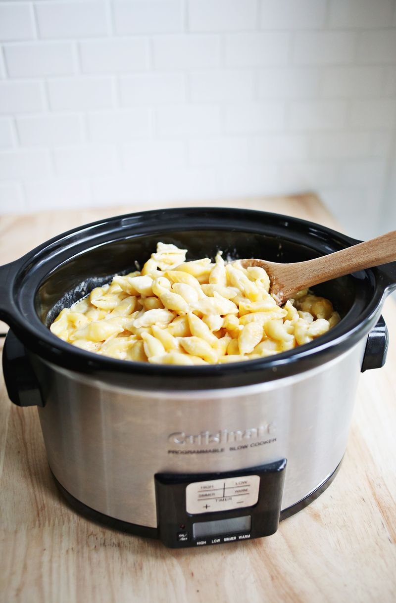 My favorite mac and cheese recipe you can make in a crock pot