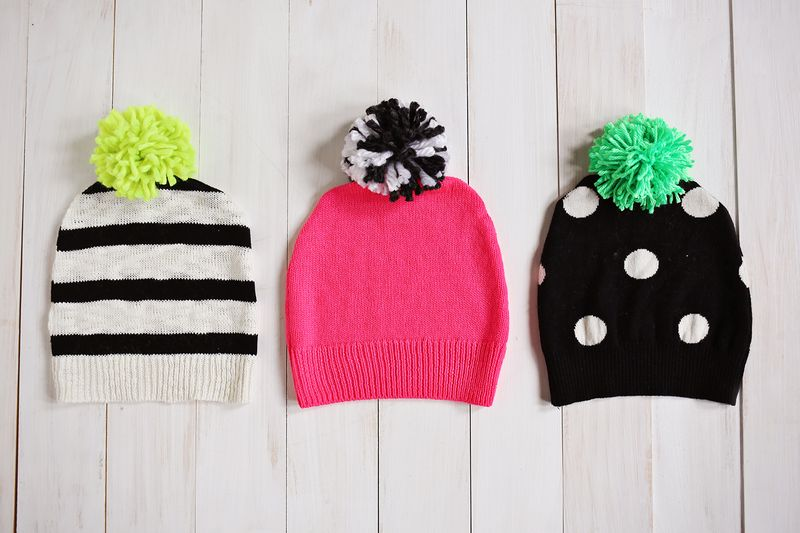 Have a Sweater? Make a Hat! (click through for tutorial)