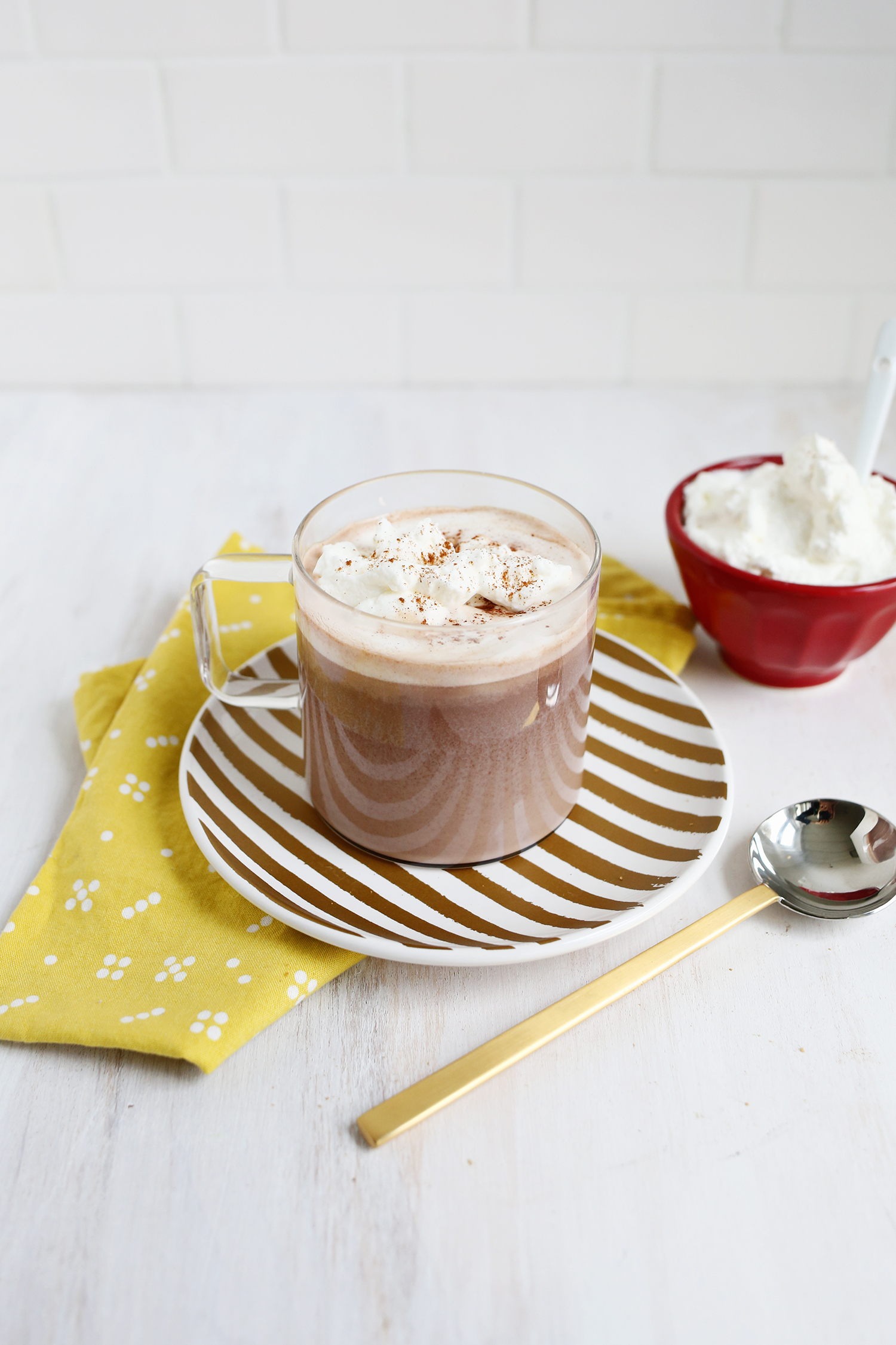Nutella Hot Chocolate-must make! (click through for recipe)