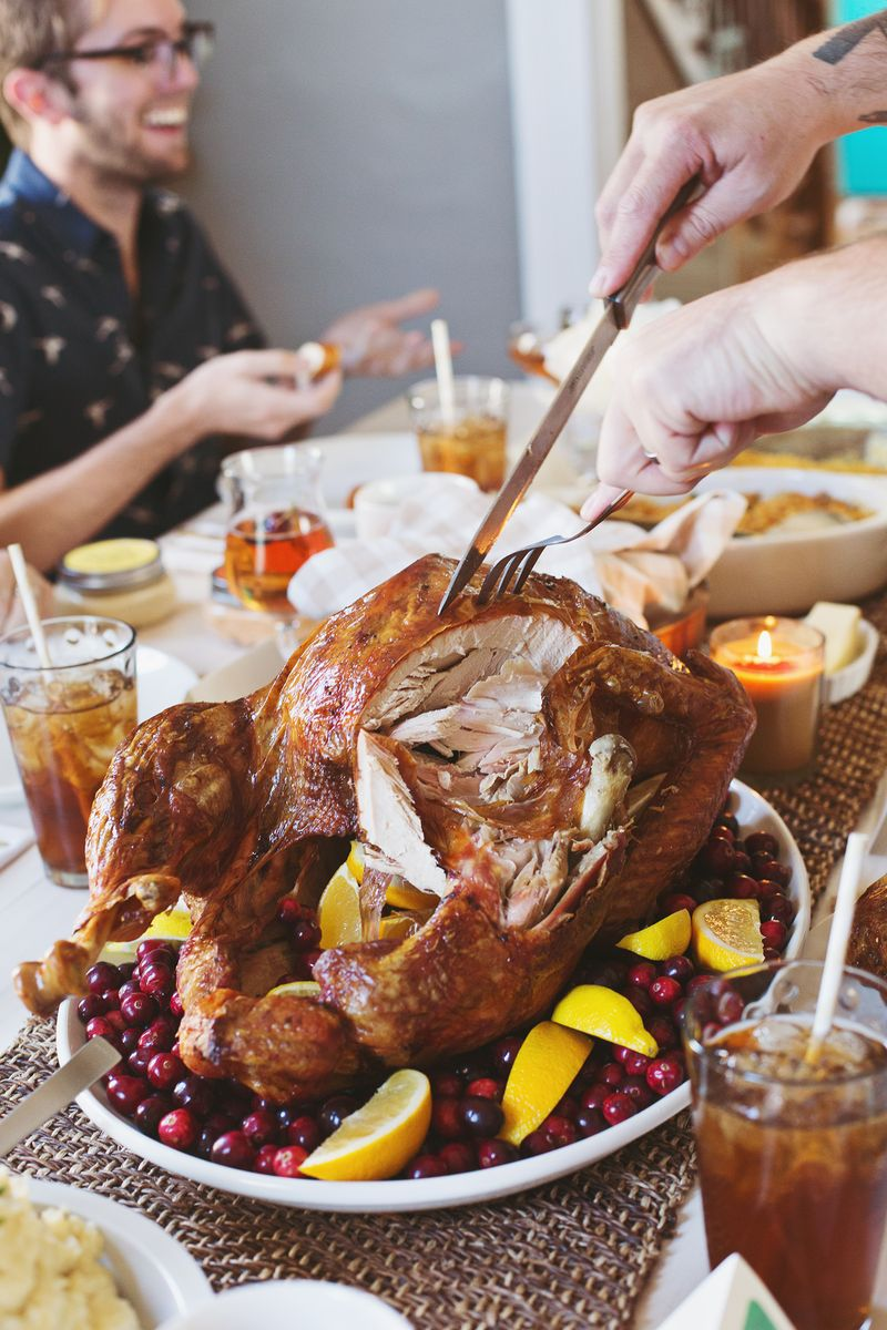 Perfect thanksgiving day turkey