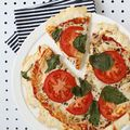 Thin Crust Pizza Dough (Yeast-Free!)