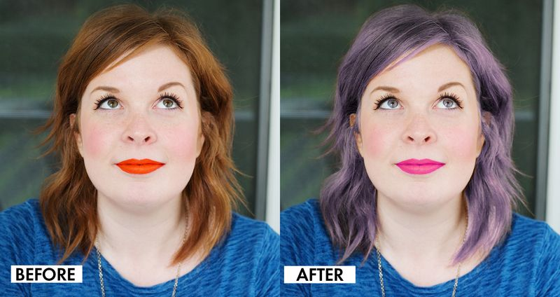 Photoshop before and after