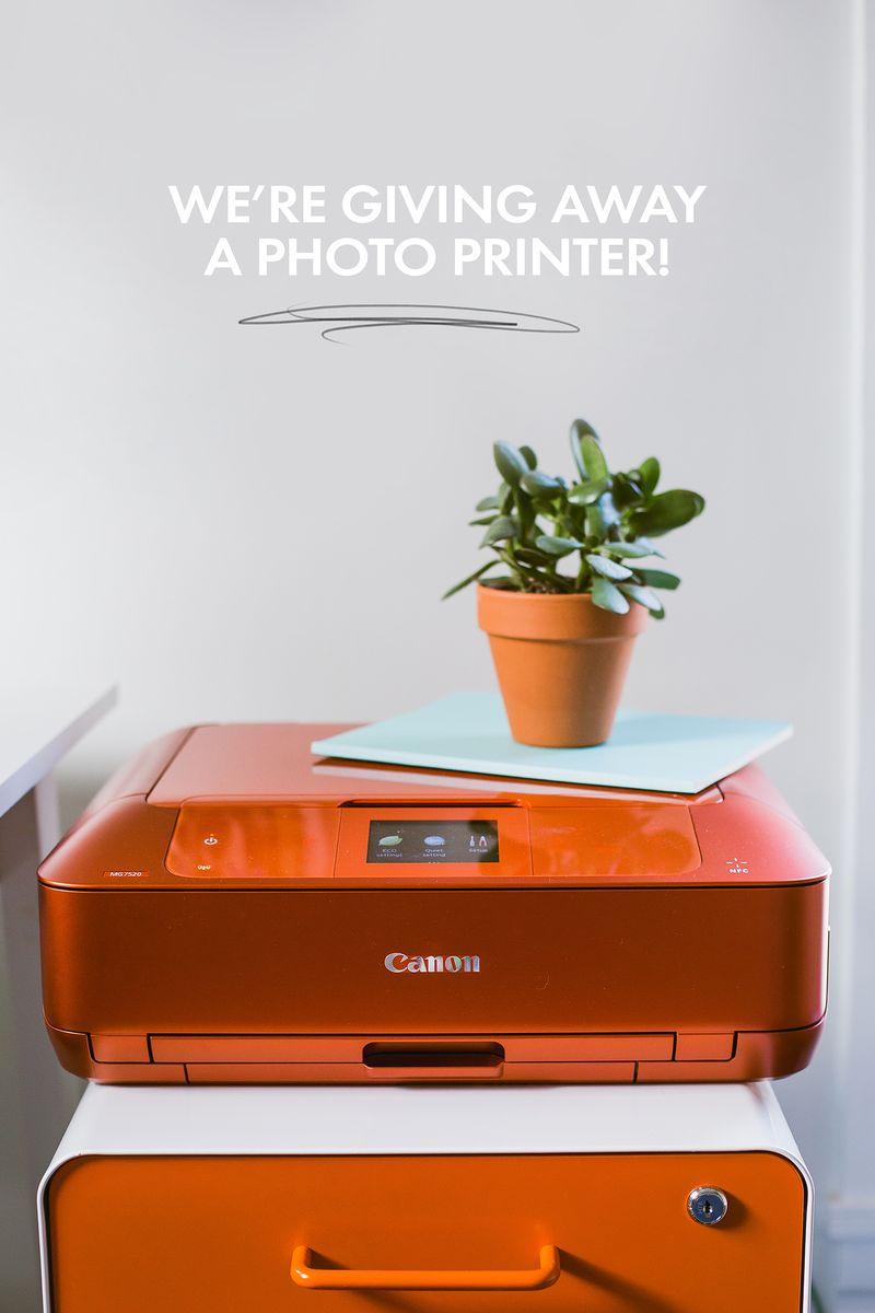 We're giving away a photo printer