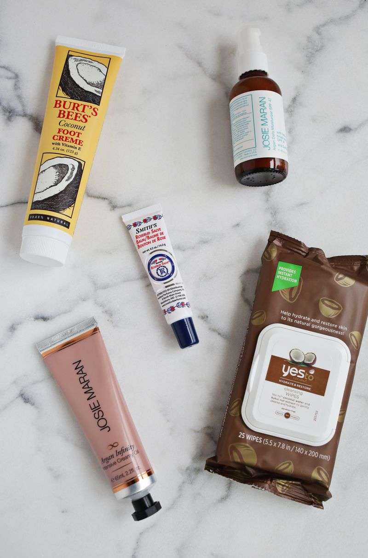 Emma's winter skin product favorites
