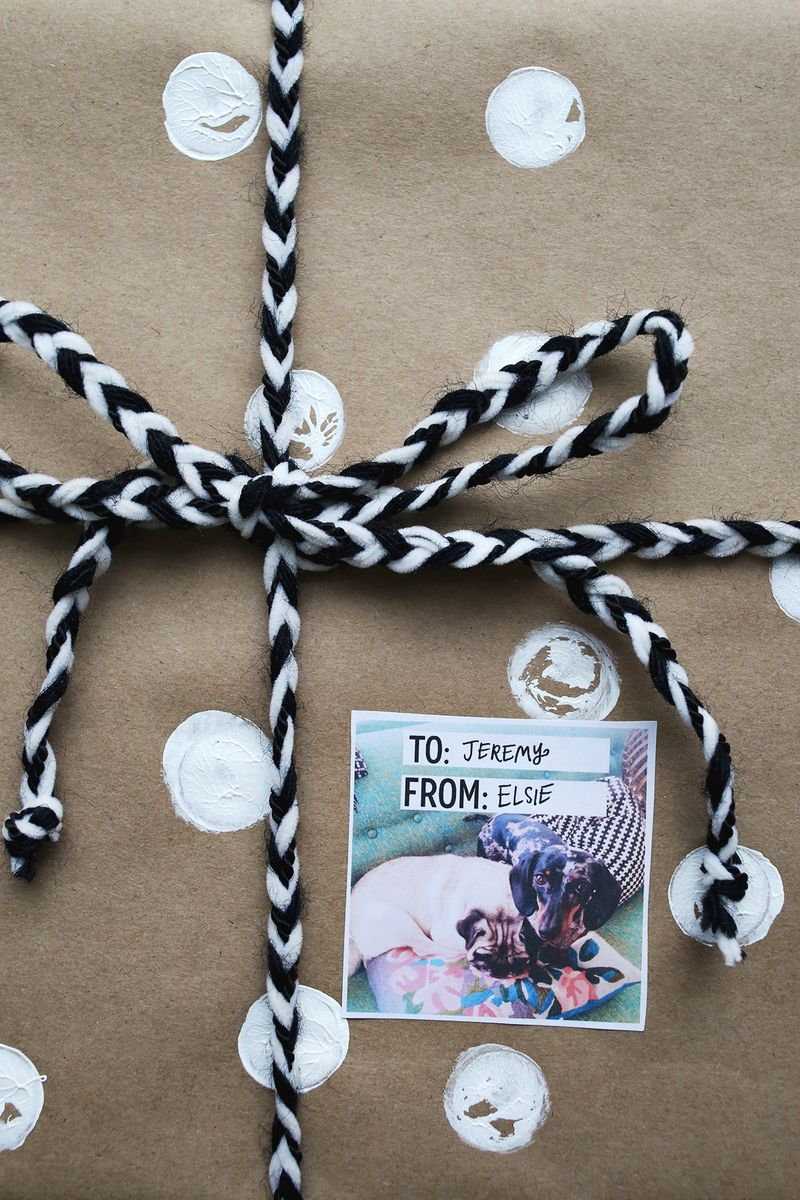 Gift tags from IG photos