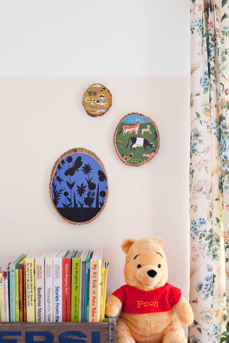 Turn the pages of a well loved book into art for your walls!