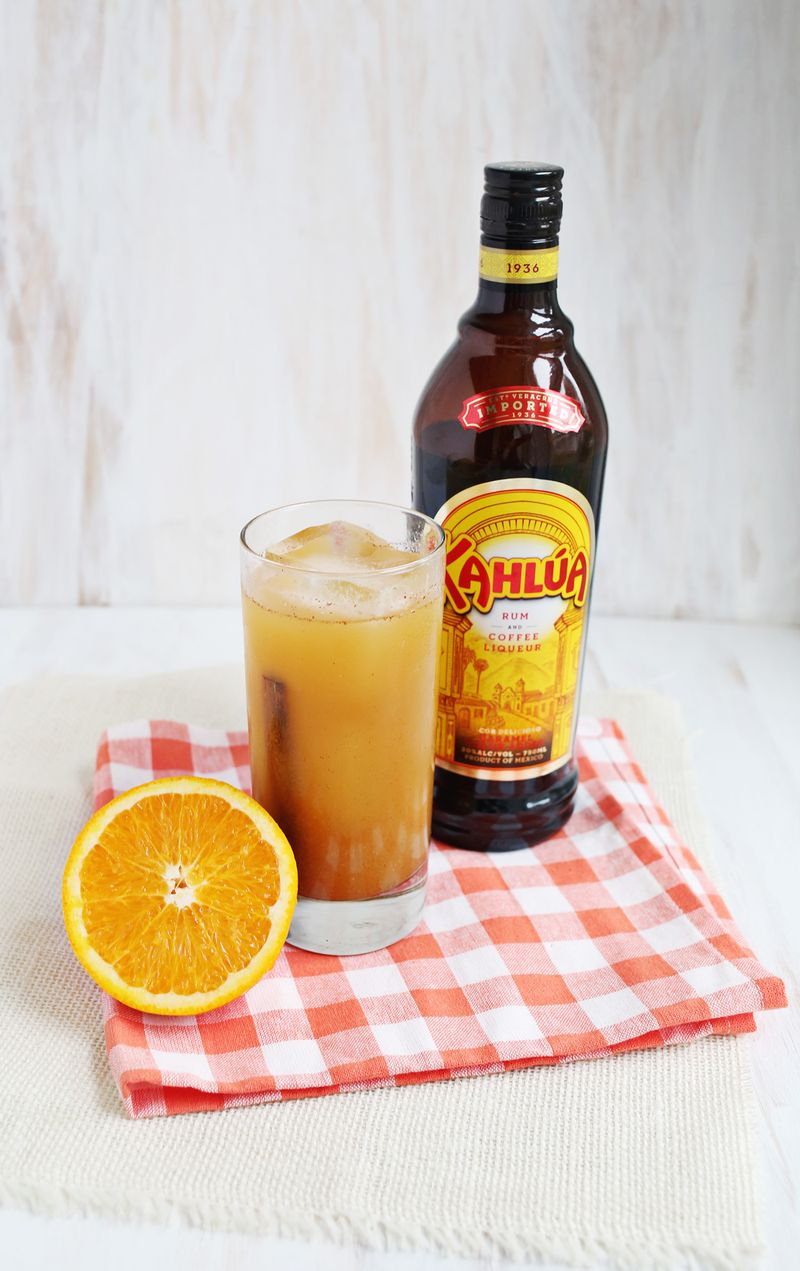Cinnamon girl cocktail