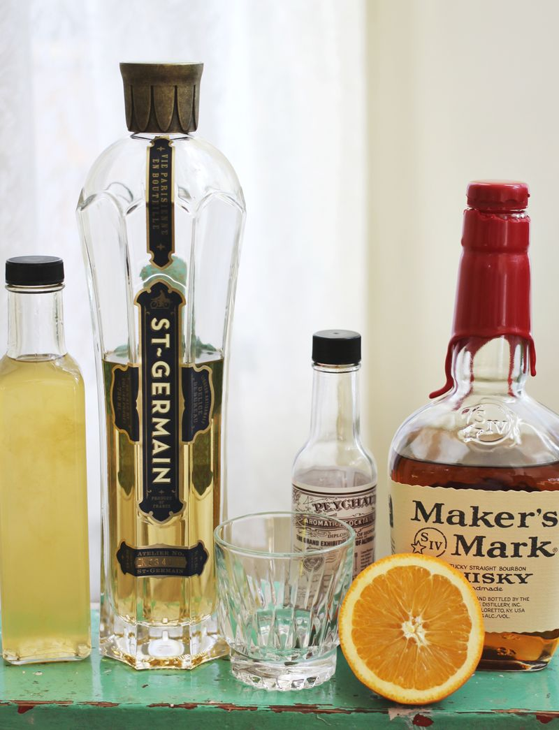 A dolled up old fashioned recipe