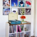 Record Frame Instagram Photo Wall - February 05, 2015