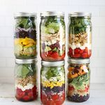 Make Lunches Easy This Year With Salads in Jars!