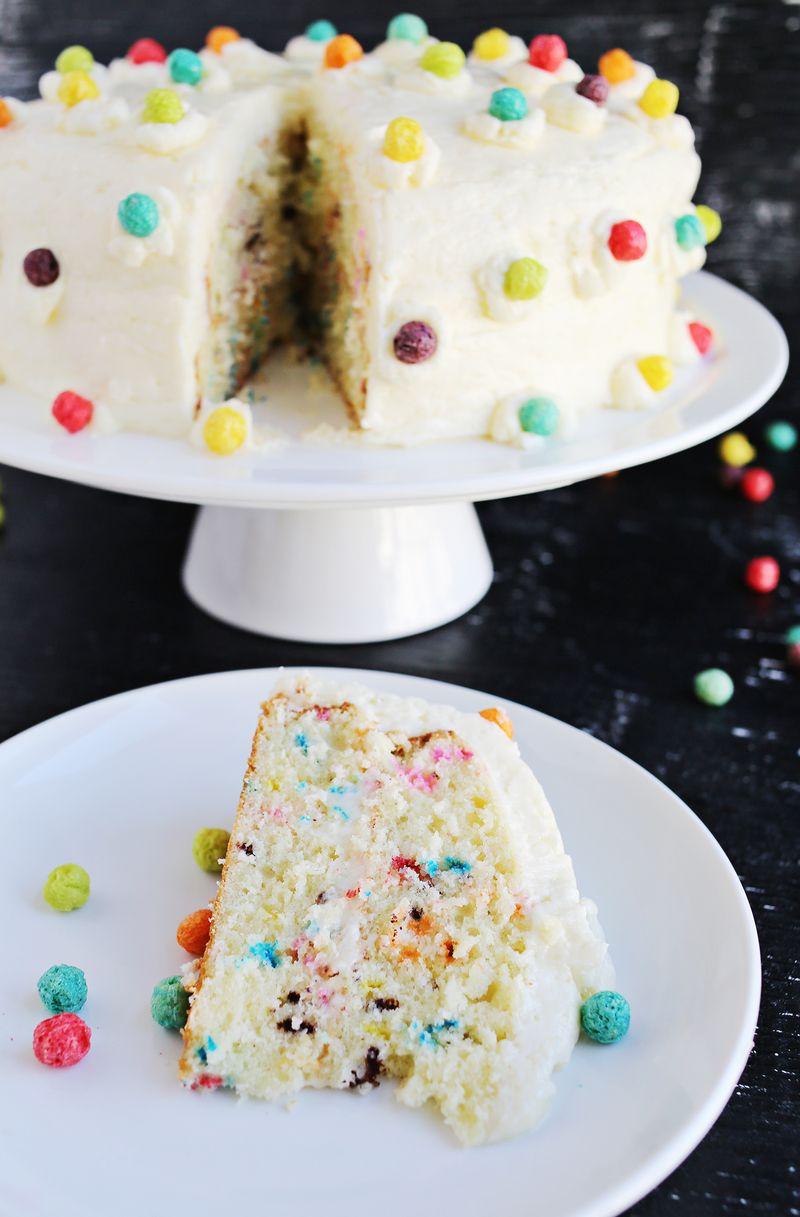 Buttermilk Funfetti Cake (via abeautifulmess.com)