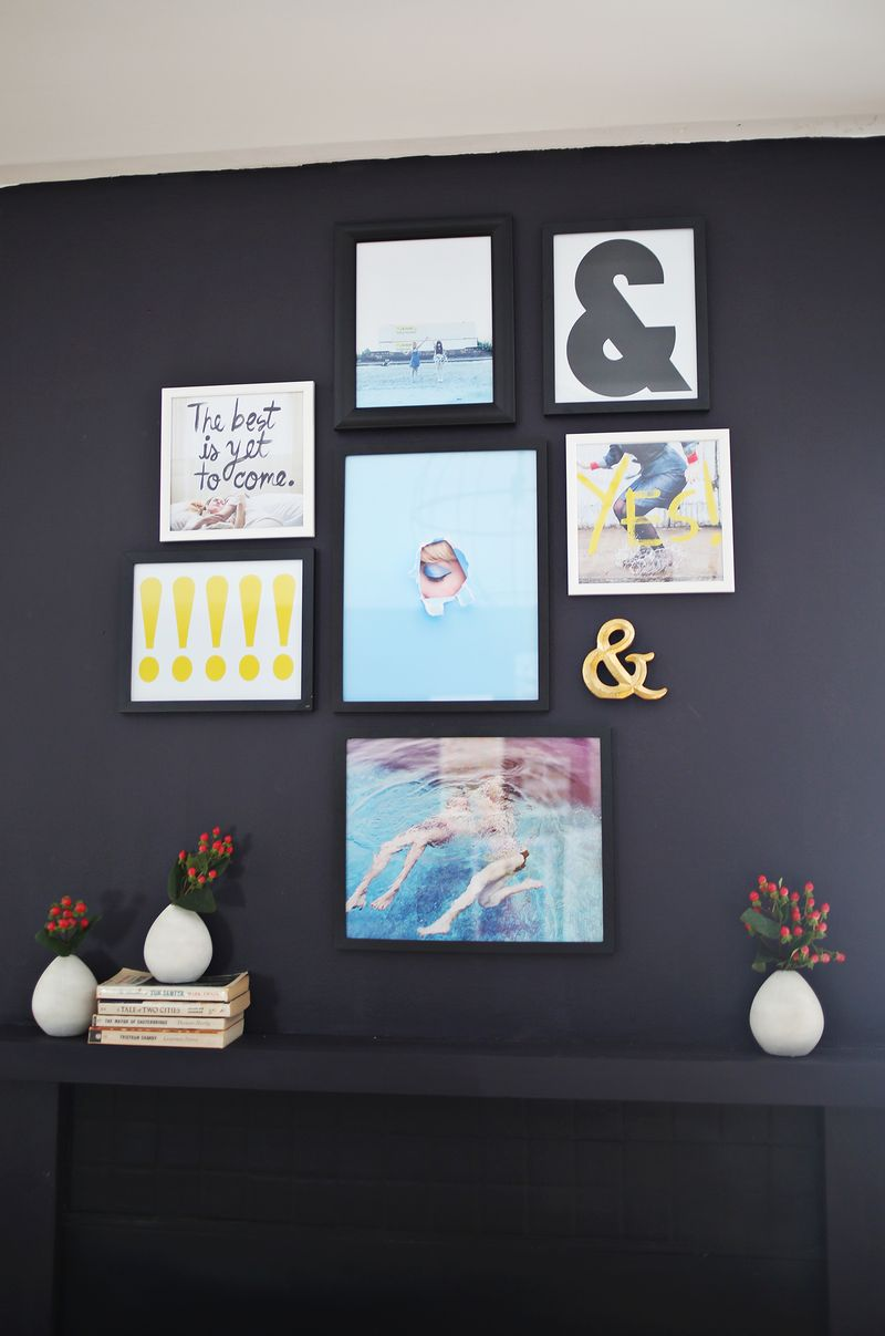 3 ideas for making your own art prints (from abeautifulmess.com)