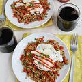 Stir Fry Breakfast Quinoa + Wild Rice - March 04, 2015