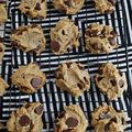 Flourless Chocolate Chip Cookies - March 06, 2015