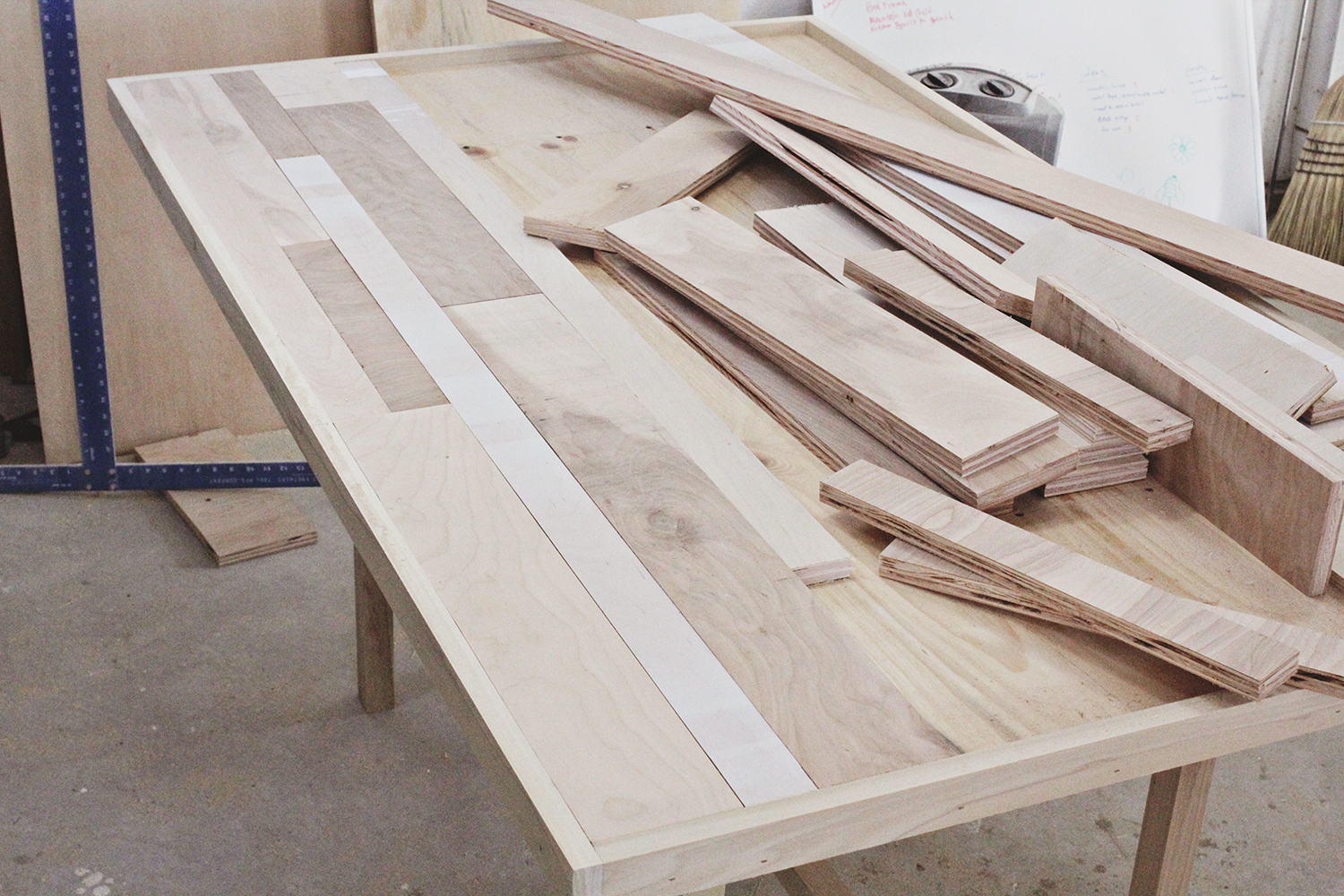How To Make A Dining Room Table Diy Six Seat Dining Room Table A Beautiful Mess