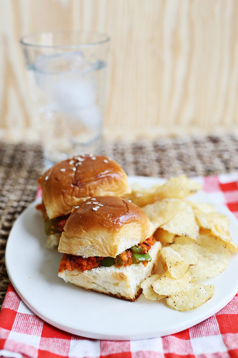 Vegetarian Sloppy Joes for a crowd!