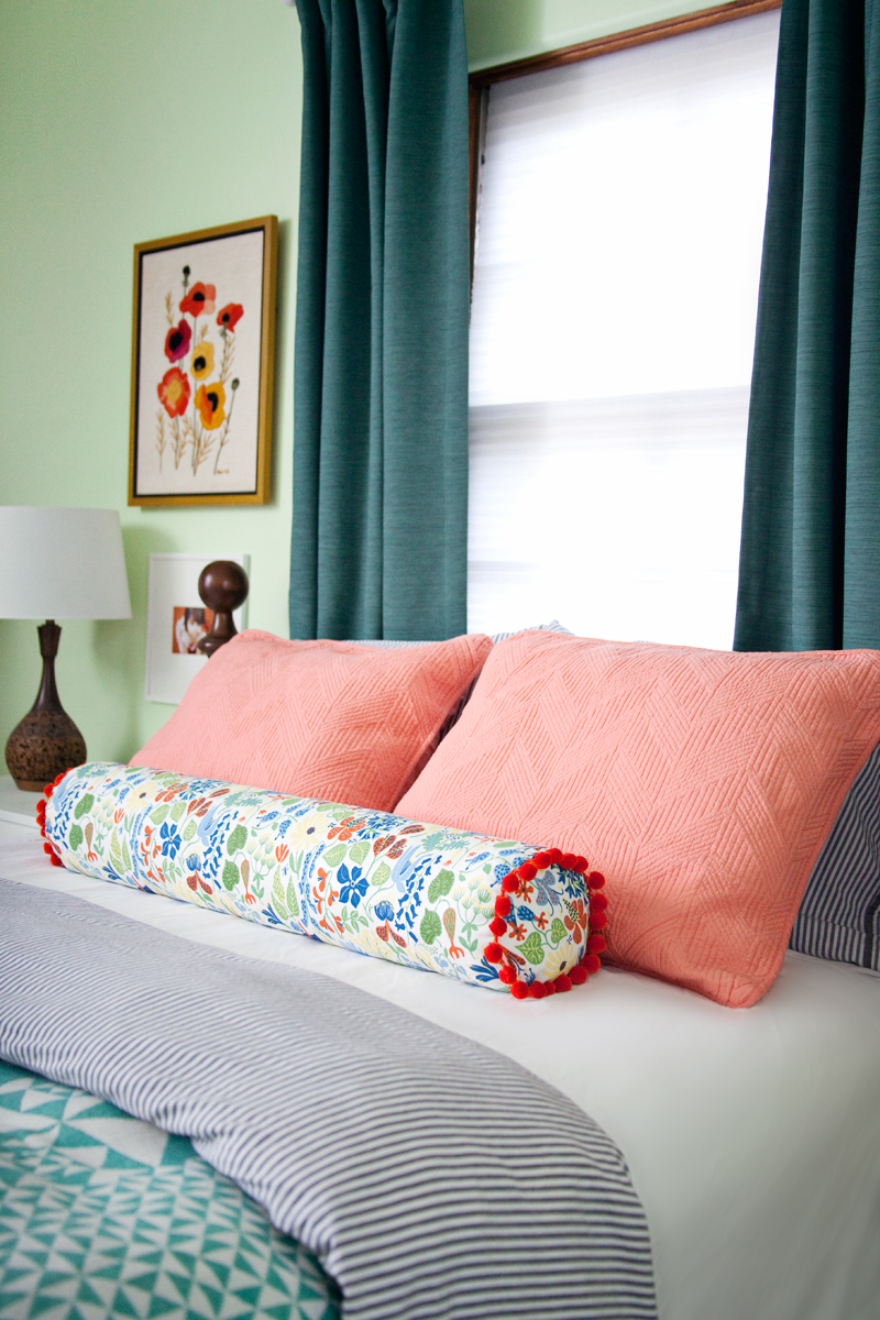 How to Make a Bolster Pillow