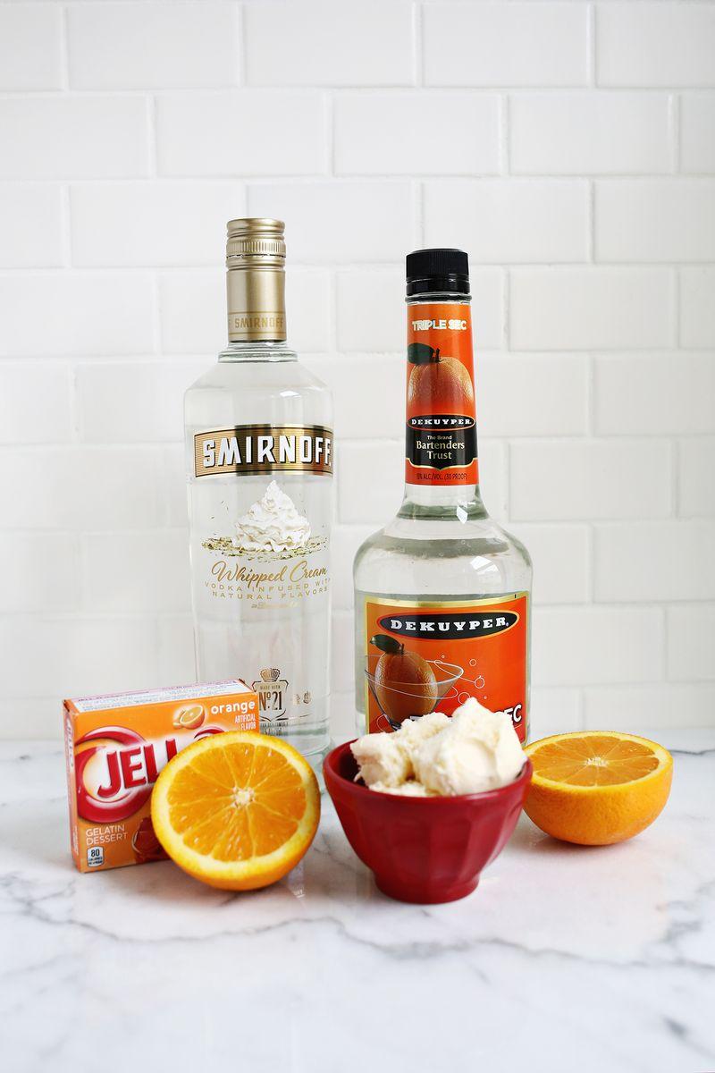 Orange Creamsicle Jello Shots – A Beautiful Mess