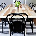 DIY Six Seat Dining Room Table - May 08, 2015