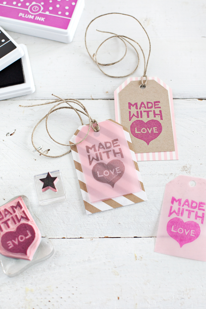 Carve your own stamps a beautiful mess