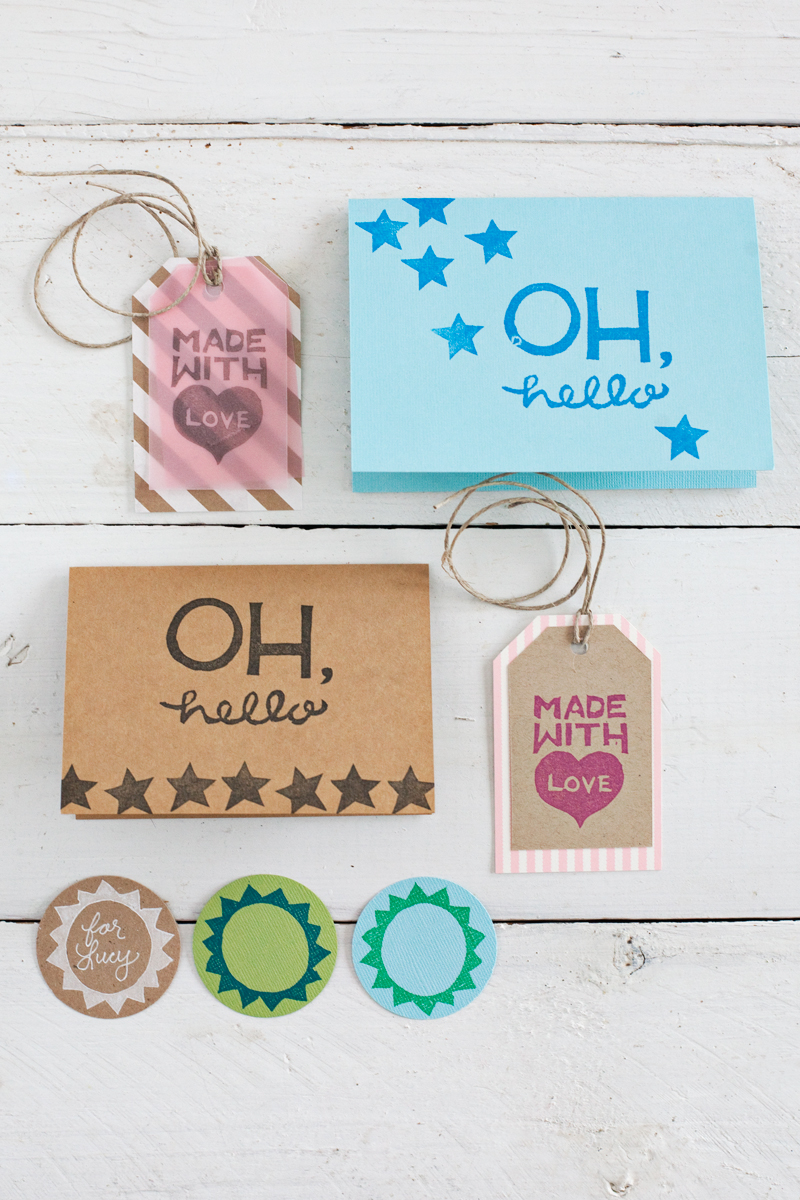 Rubber stamping get creative with stamps rollers and other