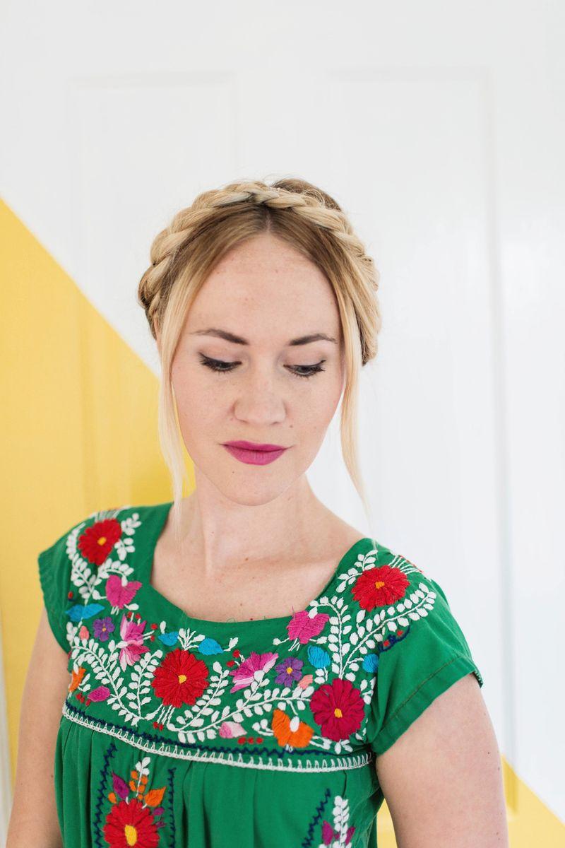 Emma's favorite summer hair style