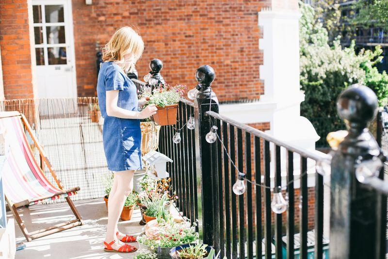 At Home with via abeautifulmess.com
