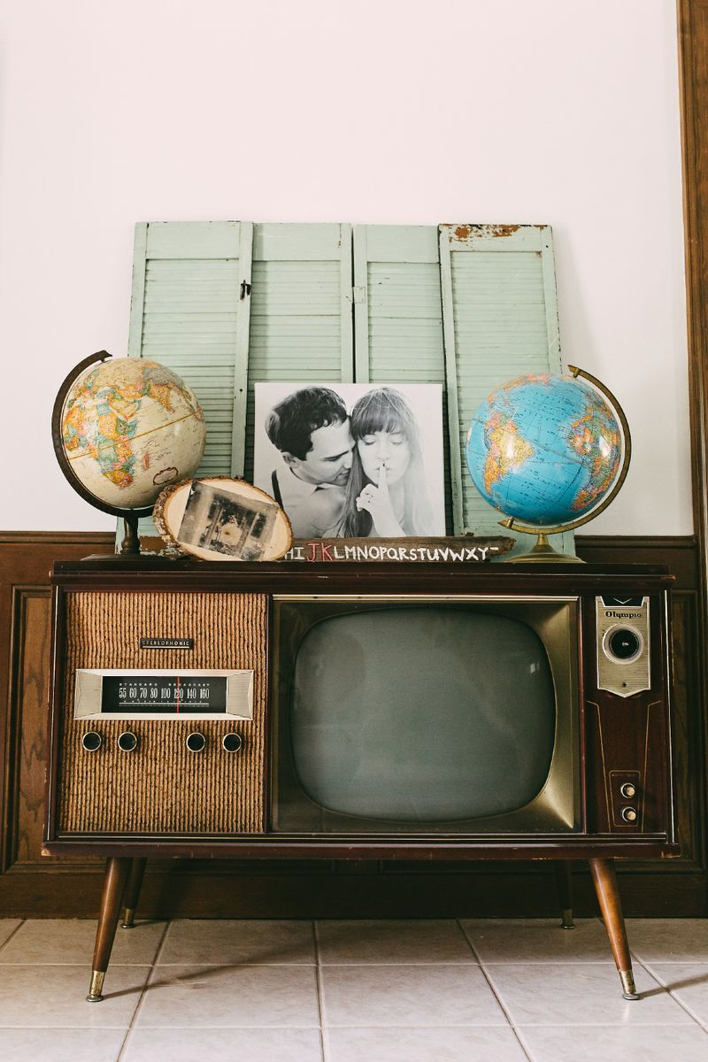 Love this old TV!