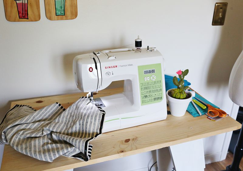 Emma Chapman's sewing machine