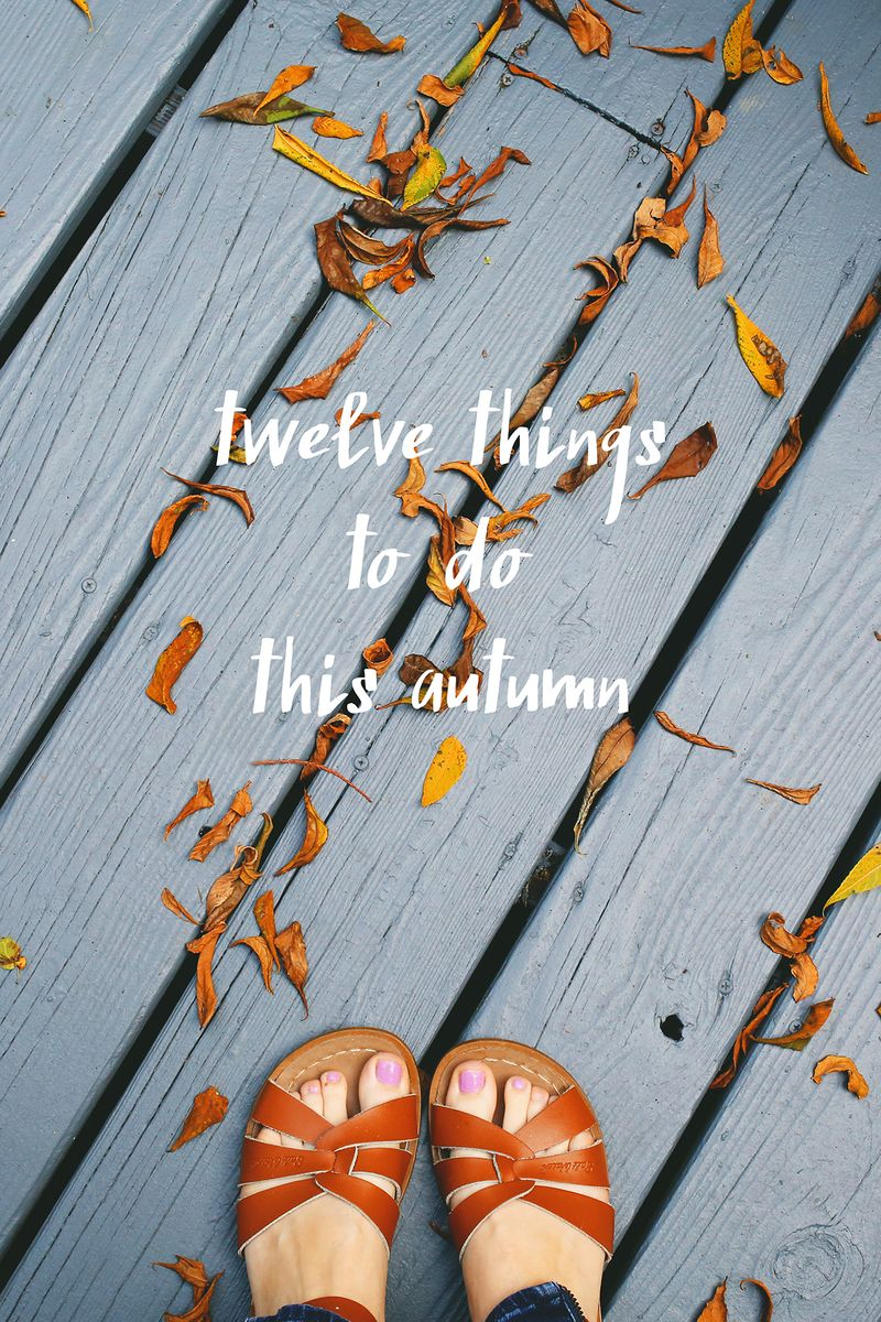 Autumn activities