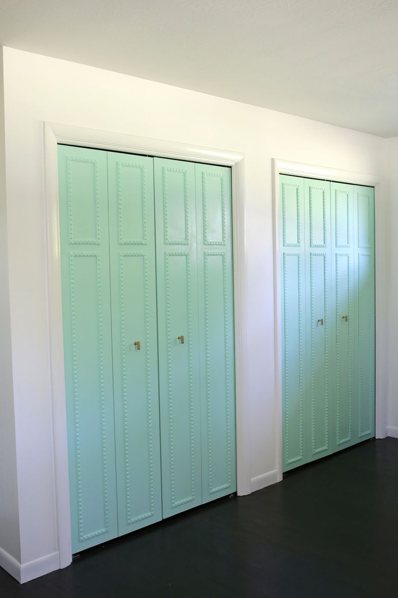 fashionable very the closet color foundation shutter door doors