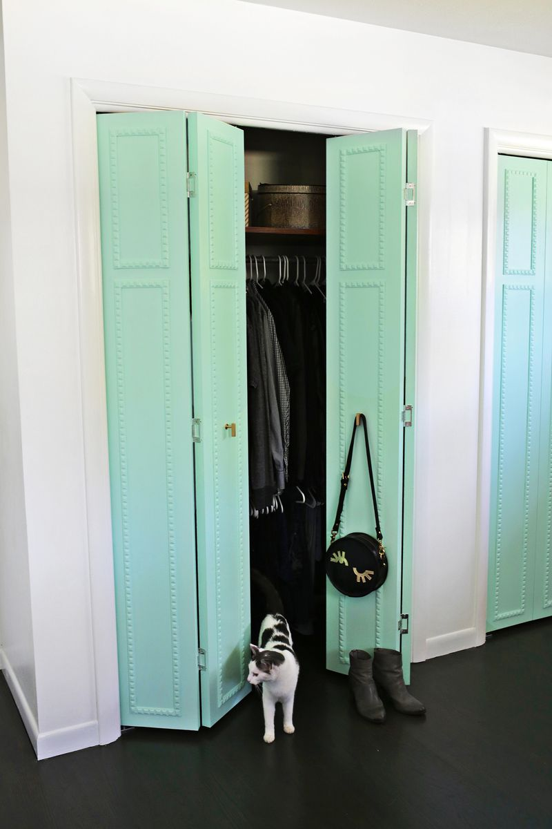 pretty mess a click so through door closet for doors tutorial beautiful with trim customize your