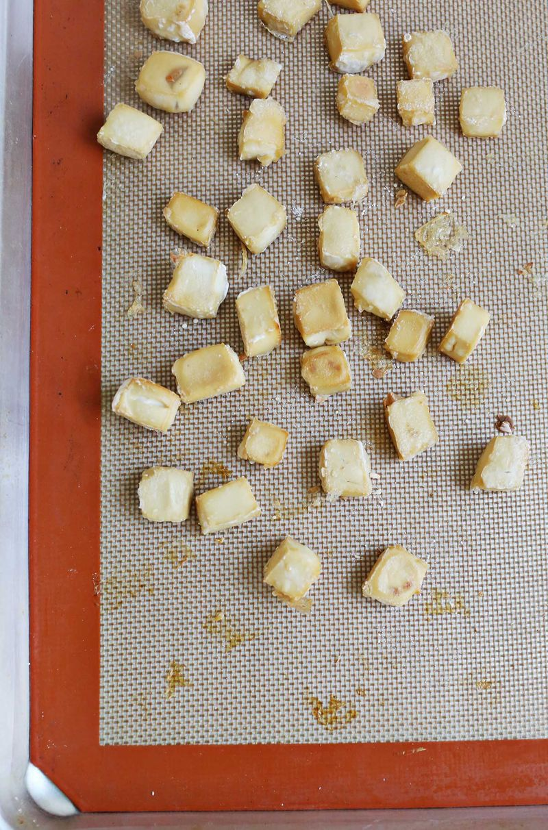 How to bake tofu