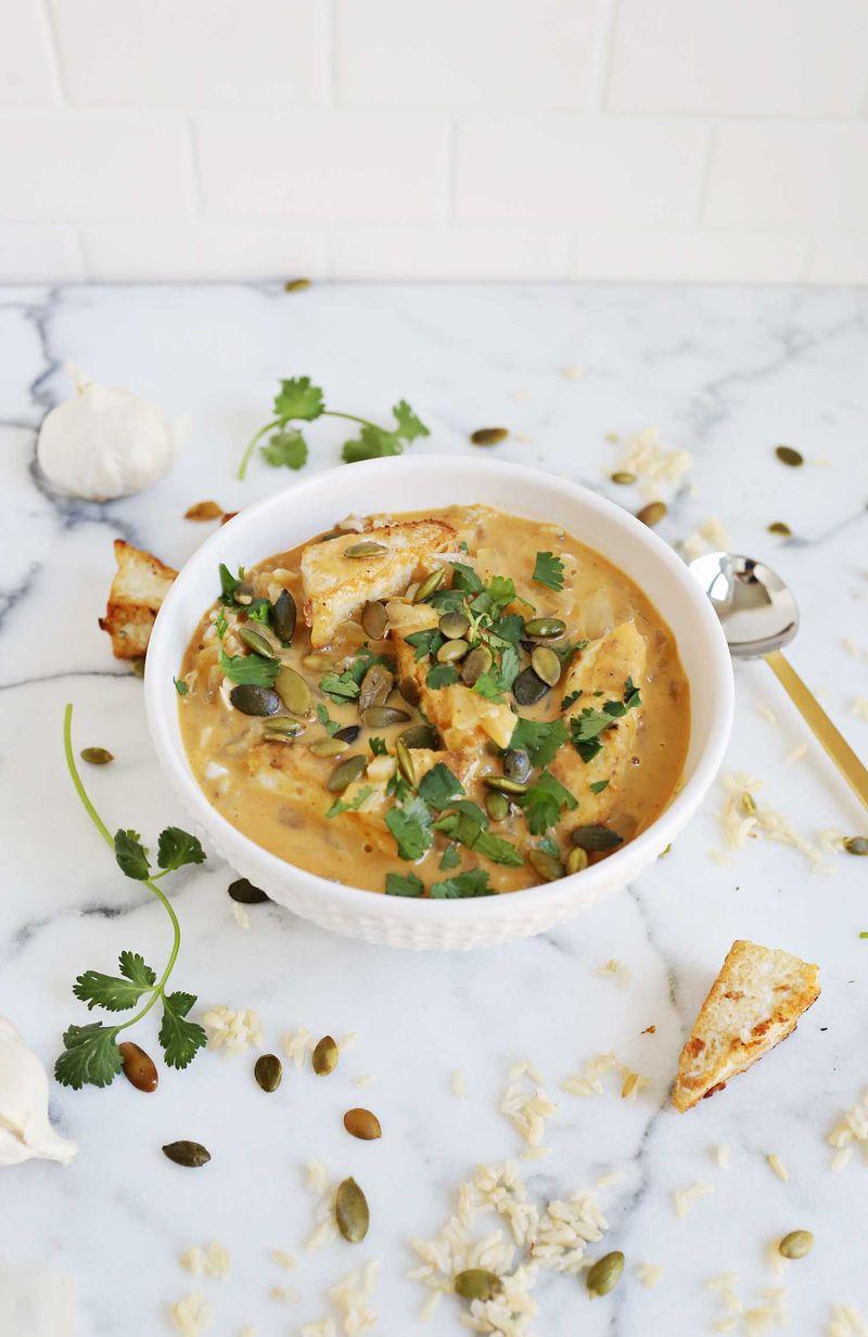 Pumpkin curry (via abeautifulmess.com)