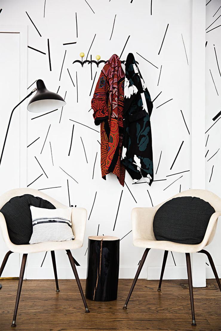 Lulu Frost studio via Domino Magazine
