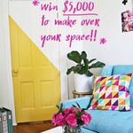 Win $5,000 in the #AHomemadeHome Giveaway!
