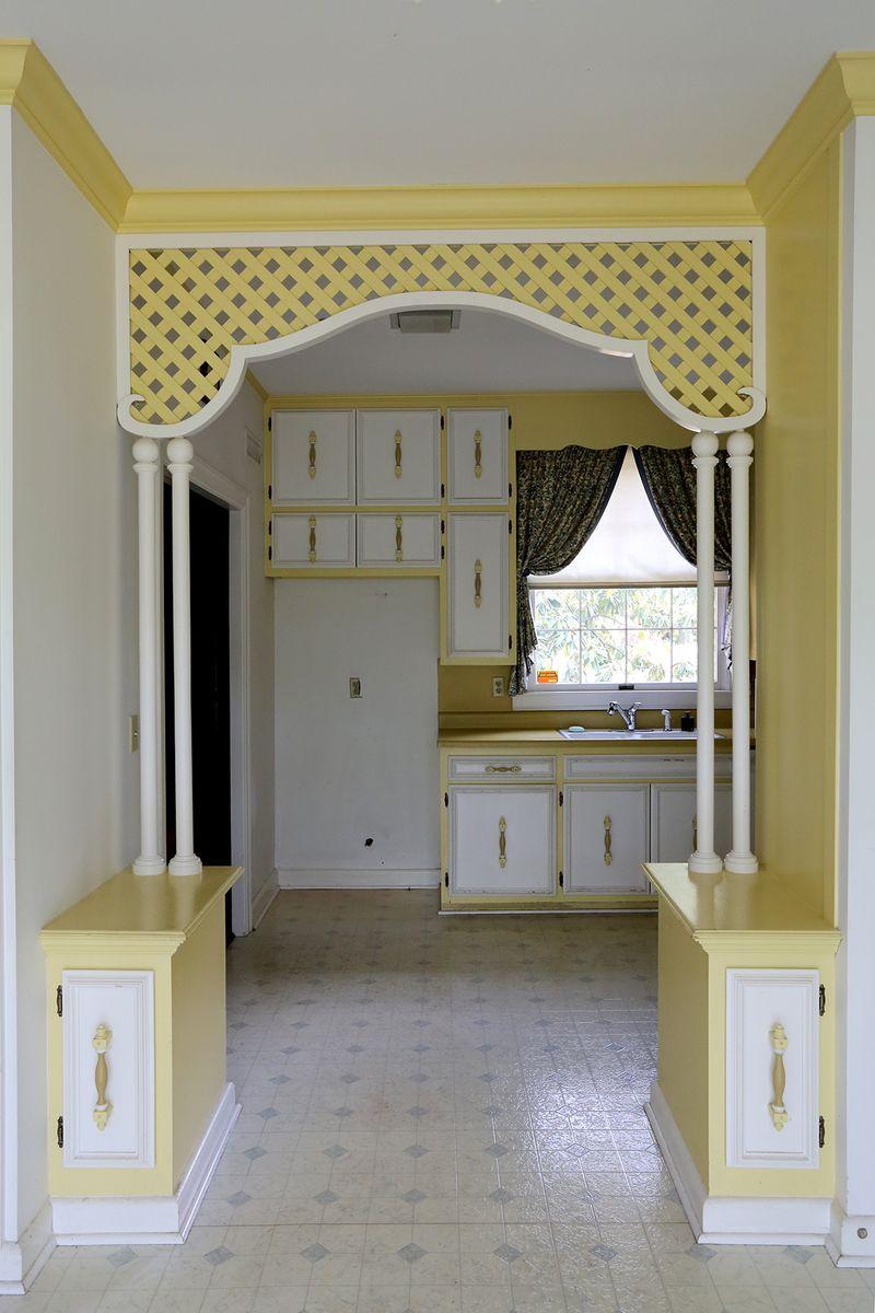 Before- Elsie's kitchen
