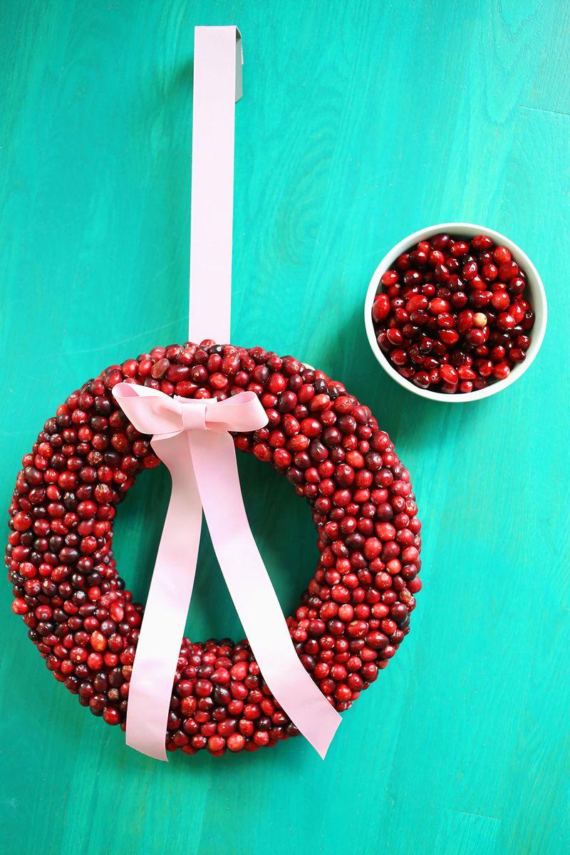 Cranberry Wreath