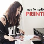 Win a Canon PIXMA iP8720 Crafting Printer!