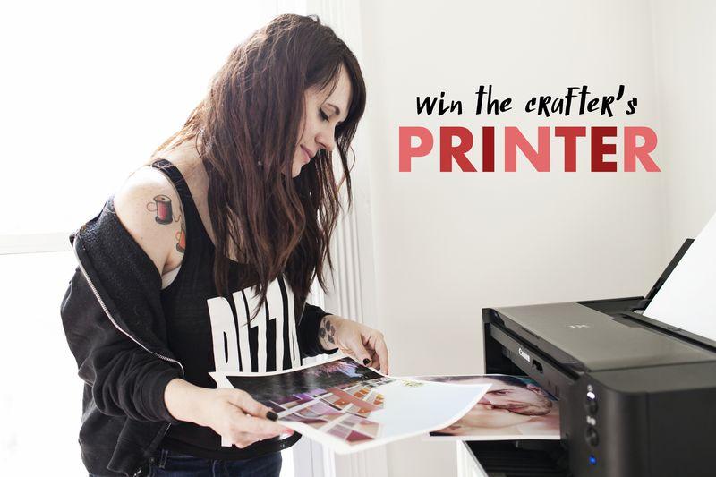 Win a Canon Printer!