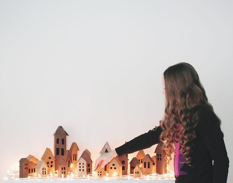 Darling advent village