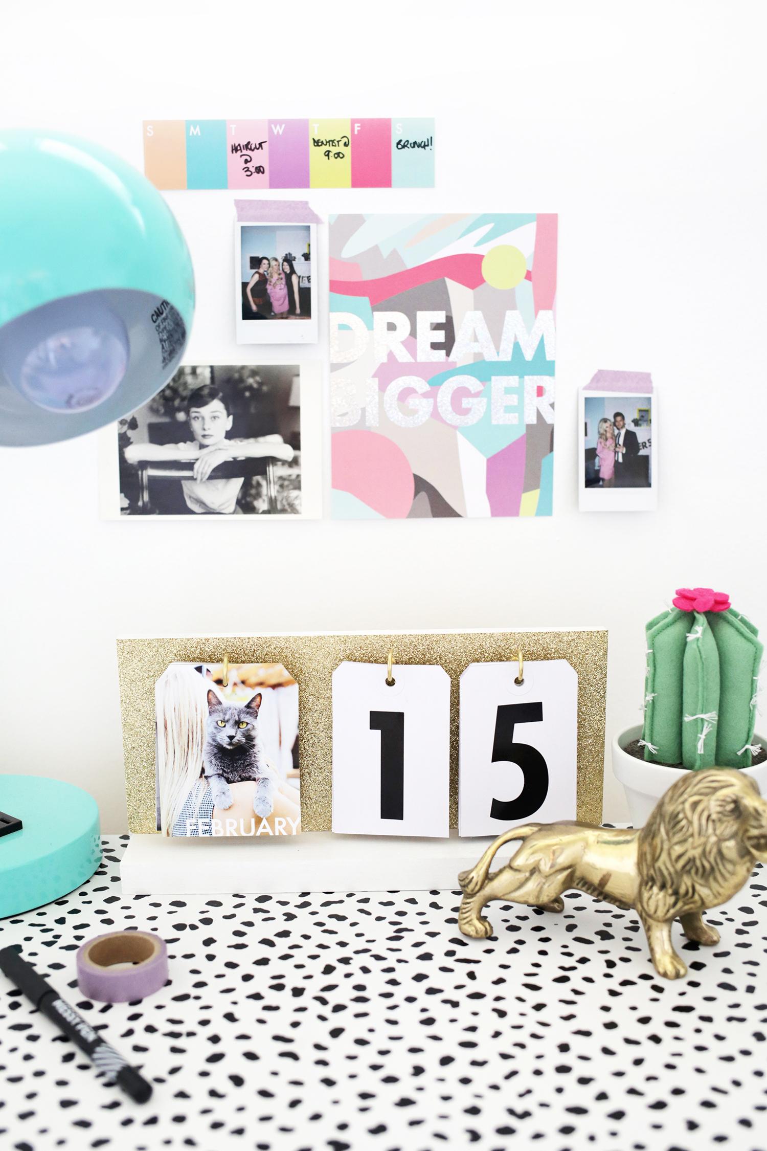 Nim C Diy Calendar : Perpetual flip calendar diy a beautiful mess