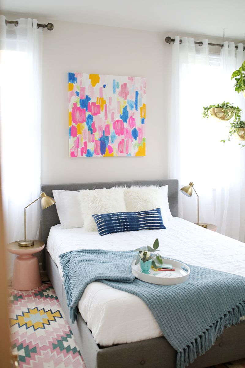 Awe Inspiring How To Set Up The Ultimate Guest Room A Beautiful Mess Largest Home Design Picture Inspirations Pitcheantrous