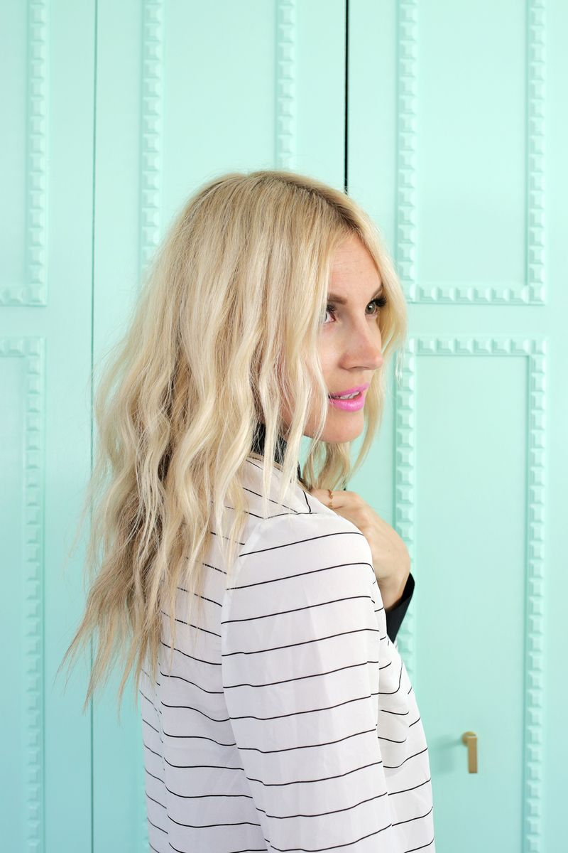 create soft waves with just a hair dryer! – a beautiful mess