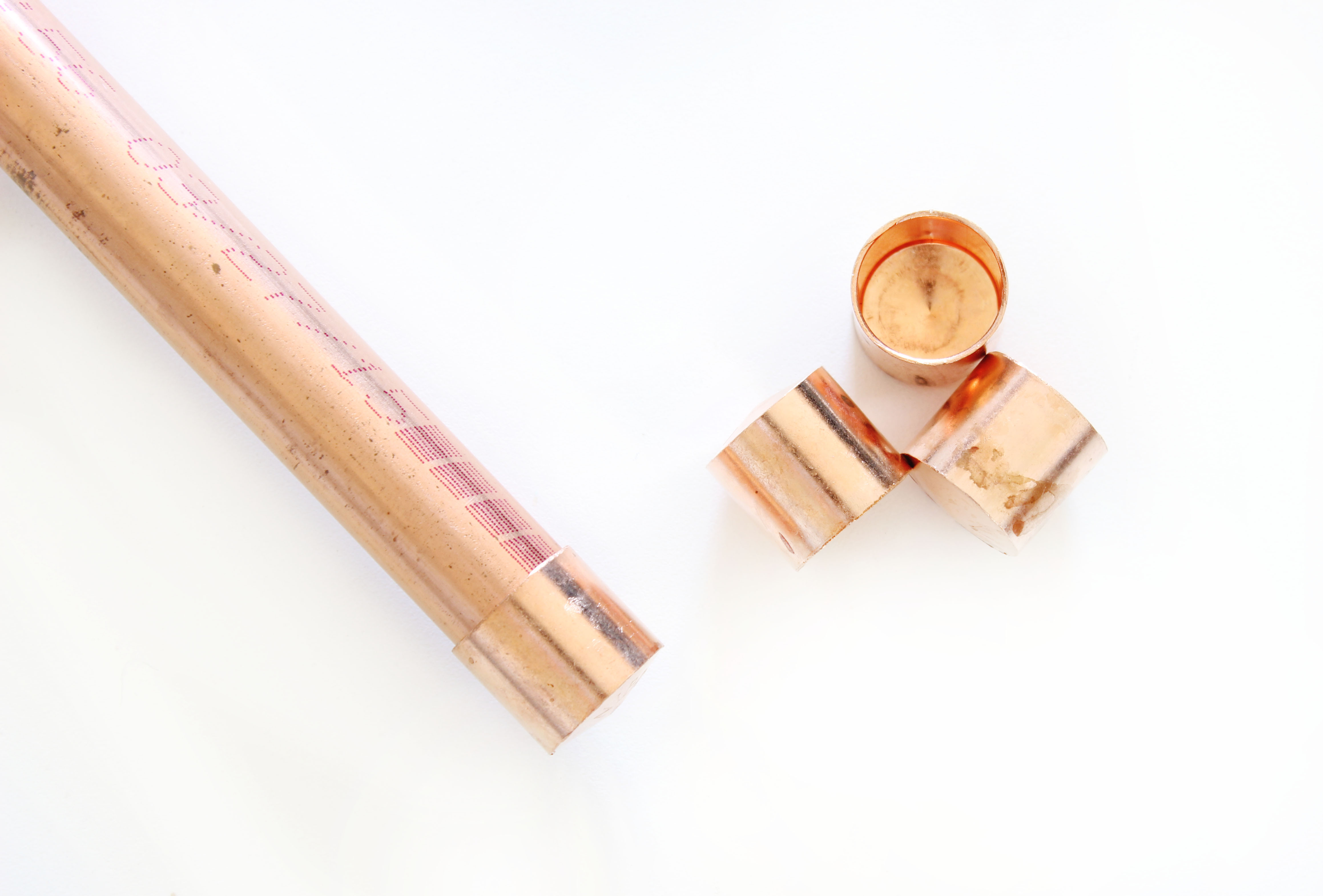 DIY Copper Ladder - Click for tutorial!