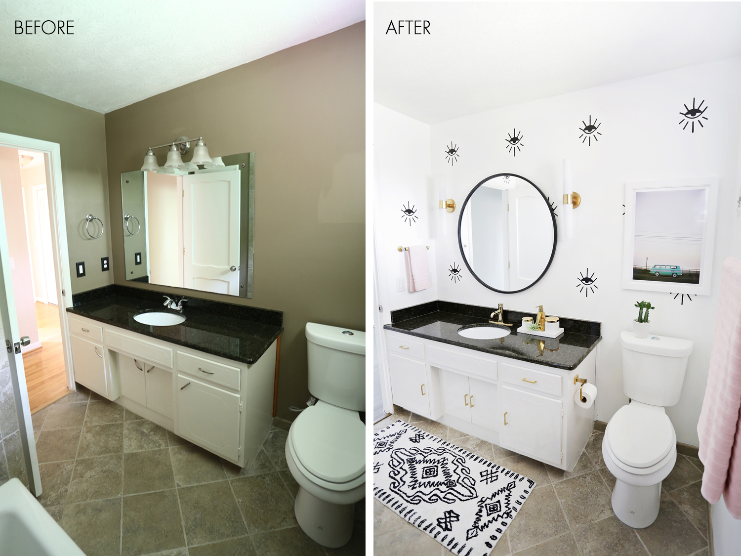 Real Bathroom Makeovers real bathroom makeovers | interior design ideas