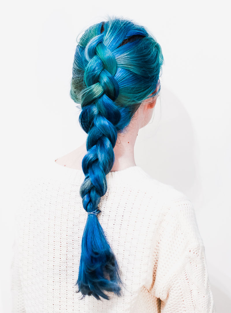 Dutch Braided Headband: A Beautiful Mess