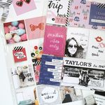 Scrapbook Sunday: April Messy Box